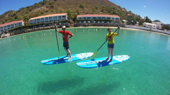 Stand up Paddle-Saint Martin-Stand Up Paddle excursion in Saint Martin-2