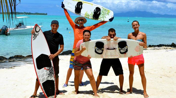 Kitesurf-Bora Bora-Cours de kitesurf à Bora Bora, Polynésie française-4