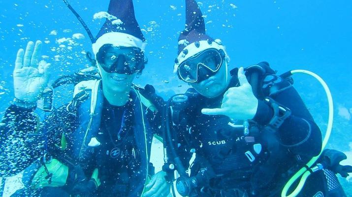 Plongée sous-marine-Saint-François-Baptême de Plongée à Saint-François, Guadeloupe-4