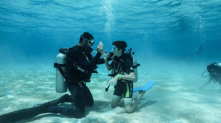 Plongée sous-marine-Bora Bora-Baptême de Plongée Sous-Marine à Bora Bora-1