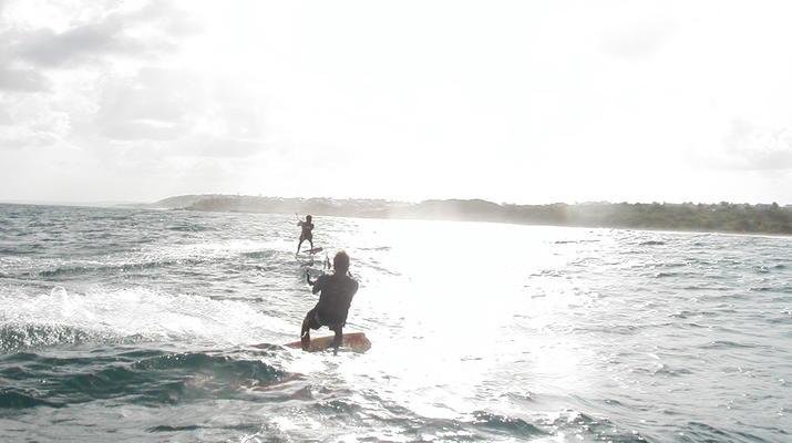 Kitesurf-Guadeloupe-Downwind sur la Côte Sud de la Guadeloupe-1