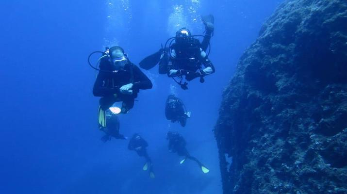 Scuba Diving-Amorgos-PADI Advanced Open Water diving course in Amorgos-3