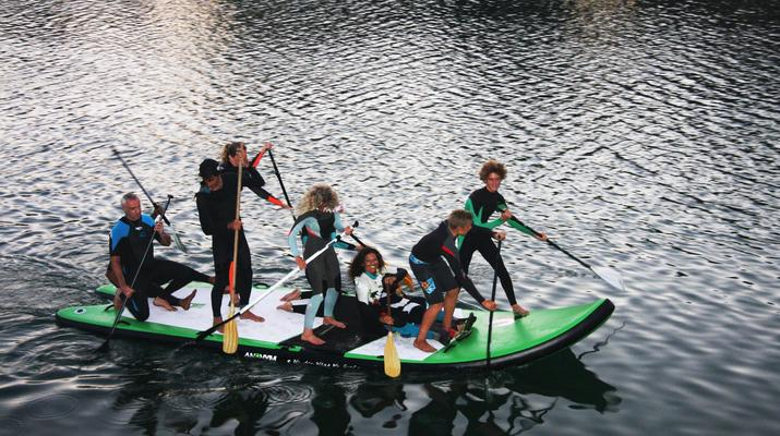 Stand Up Paddle-Perros-Guirec-Supsquatch Surf vers Perros-Guirec-2