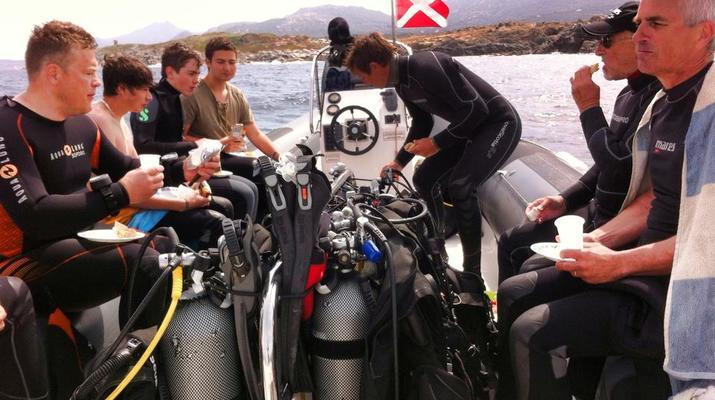 Plongée sous-marine-Balagne-Stage de plongée PADI à Ile Rousse, Corse-2