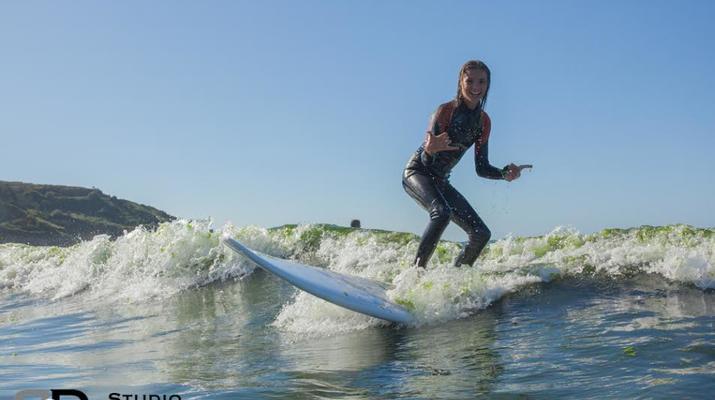 Surf-Perros-Guirec-Cours de Surf et de bodyboard vers Perros-Guirec-1