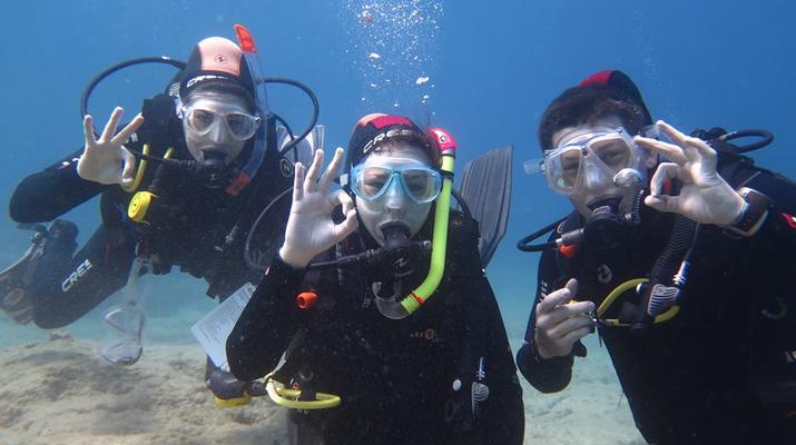 Scuba Diving-Amorgos-PADI Advanced Open Water diving course in Amorgos-1