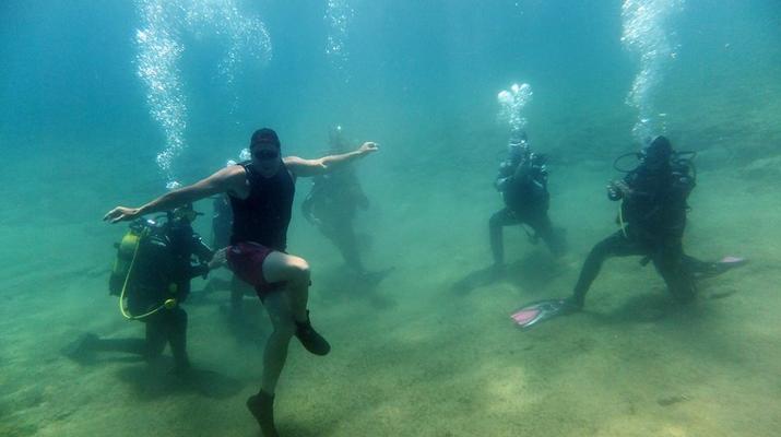 Scuba Diving-Agia Pelagia-Discover Scuba Diving in Mononaftis Beach, near Heraklion-6