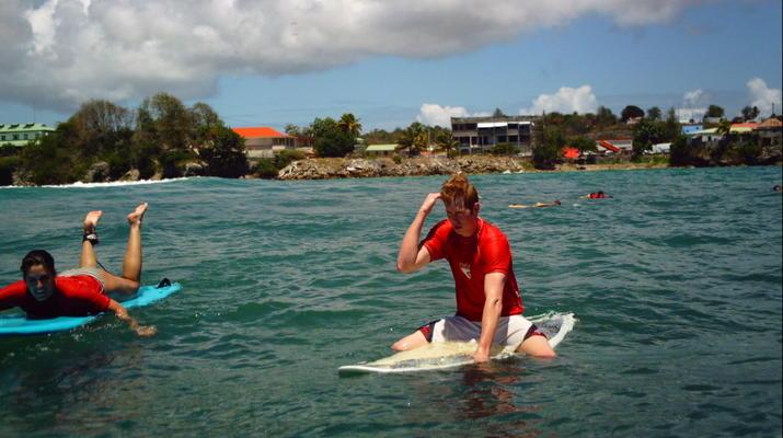 Surf-Saint-François-Cours de surf à Saint François, Guadeloupe-1