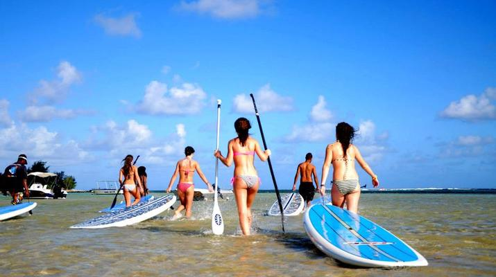 Stand Up Paddle-Bel Ombre-Balade en Stand Up Paddle à l'Île Maurice-2