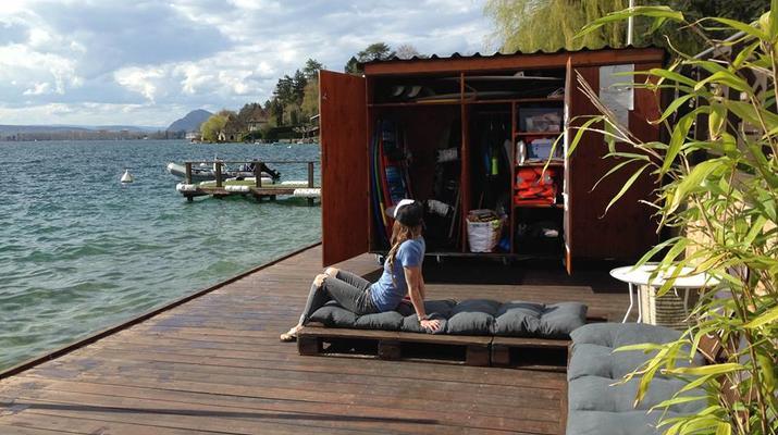 Wakeboard-Annecy-Coaching Privé Initiation Wakeboard ou Wakesurf Bateau au Lac d'Annecy-6