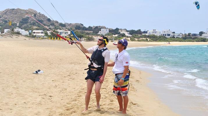 Kitesurfing-Naxos-IKO Kitesurfing Courses and Lessons in Mikri Vigla, Naxos-3