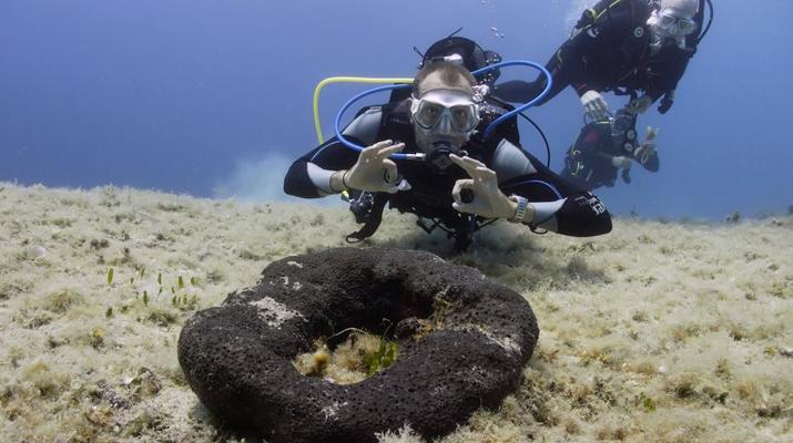 Scuba Diving-Antiparos-Adventure dives in Antiparos-5