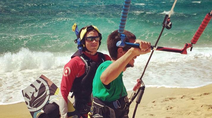 Kitesurfing-Naxos-IKO Kitesurfing Courses and Lessons in Mikri Vigla, Naxos-2