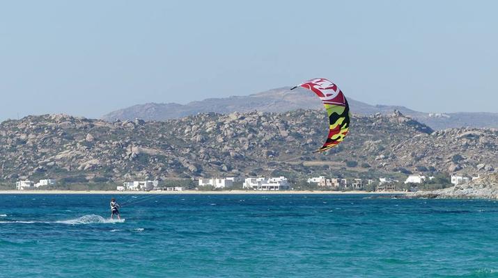 Kitesurfing-Naxos-IKO Kitesurfing Courses and Lessons in Mikri Vigla, Naxos-1