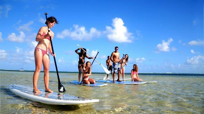 Stand Up Paddle-Bel Ombre-Balade en Stand Up Paddle à l'Île Maurice-1