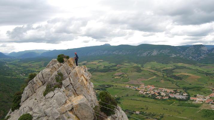 Via Ferrata-Pyrénées Orientales-Via Ferrata à Saint Paul de Fenouillet, Pyrénées Orientales-4