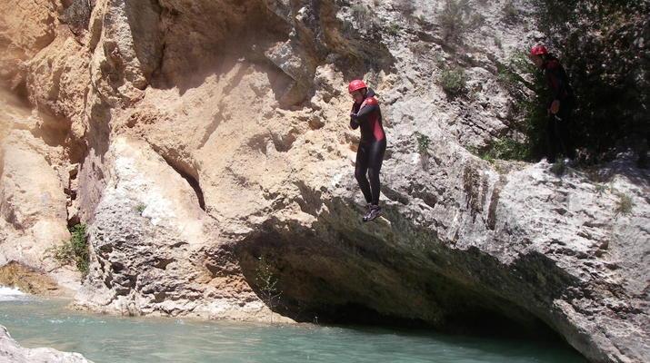 Canyoning-Bagnères-de-Luchon-Canyon Familial d'Arlos près de Bagnères-de-Luchon-1