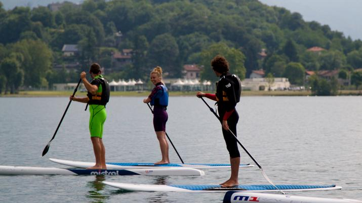 Stand up Paddle-Lake Como-Stand up paddle rental in Colico, Lake Como-2