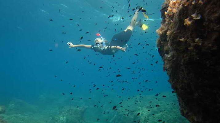 Snorkeling-Mykonos-Sailing and snorkeling excursion around Mykonos-2
