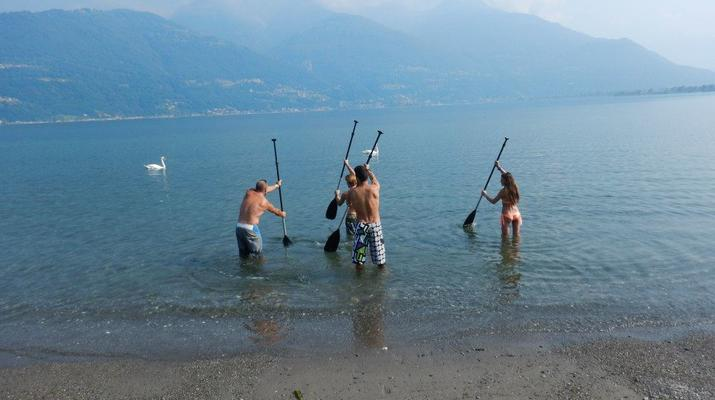 Stand up Paddle-Lake Como-Stand up paddle rental in Colico, Lake Como-6