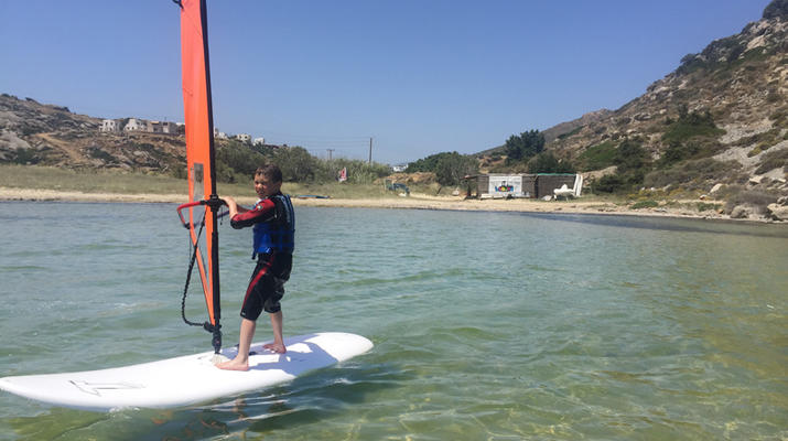 Windsurfing-Naxos-Windsurfing lessons in Naxos-4