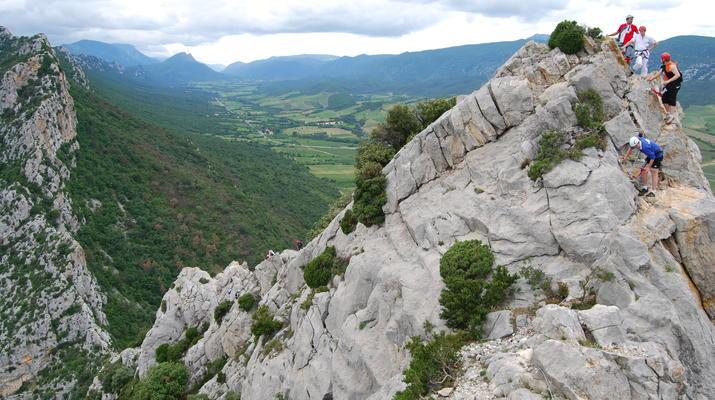 Via Ferrata-Pyrénées Orientales-Via Ferrata à Saint Paul de Fenouillet, Pyrénées Orientales-3