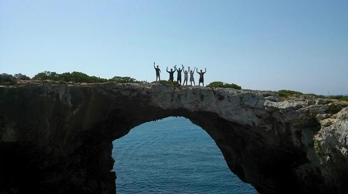 Caving-Manacor, Mallorca-Sea Caving excursion in Cova des Coloms, Mallorca-6