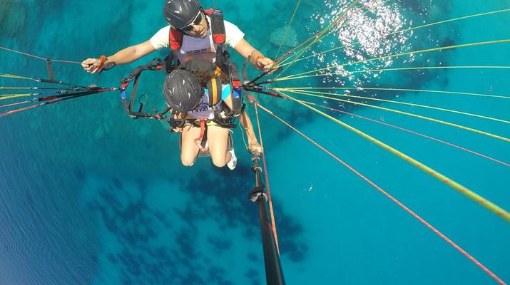 Paragliding-Kefalonia-Tandem Paragliding Flight over Myrtos Beach, Kefalonia-1