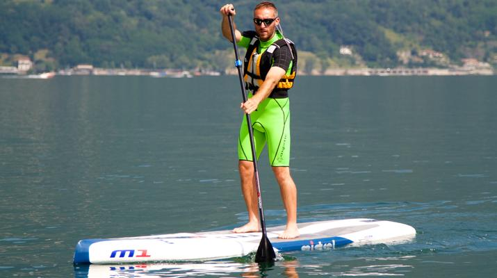 Stand up Paddle-Lake Como-Stand up paddle rental in Colico, Lake Como-3