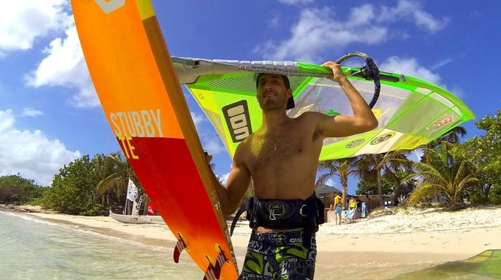 Windsurfing-Saint Martin-Windsurfing gear rental in St Martin-6