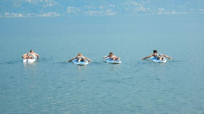 Stand up Paddle-Lake Como-Stand up paddle rental in Colico, Lake Como-1