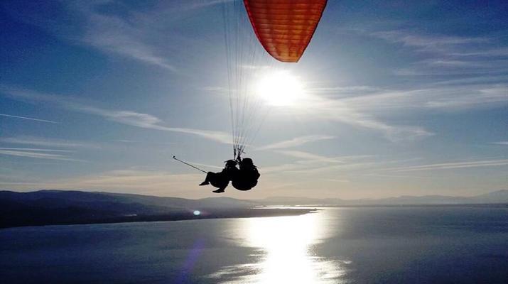 Paragliding-Kefalonia-Tandem Paragliding Flight over Myrtos Beach, Kefalonia-3