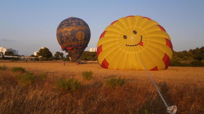 Montgolfière-Manacor, Mallorca-Vols en montgolfière au-dessus de Majorque, au départ de Manacor-2