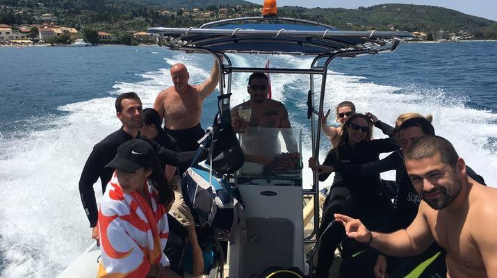 Scuba Diving-Lefkada-Discover Scuba Diving in Likiana, Lefkada-1