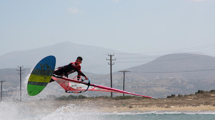 Windsurfing-Naxos-Windsurfing lessons in Naxos-5