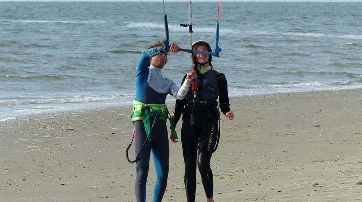 Kitesurfen-Schouwen-Duiveland-Kitesurfing Unterricht in der Nähe von Rotterdam-2