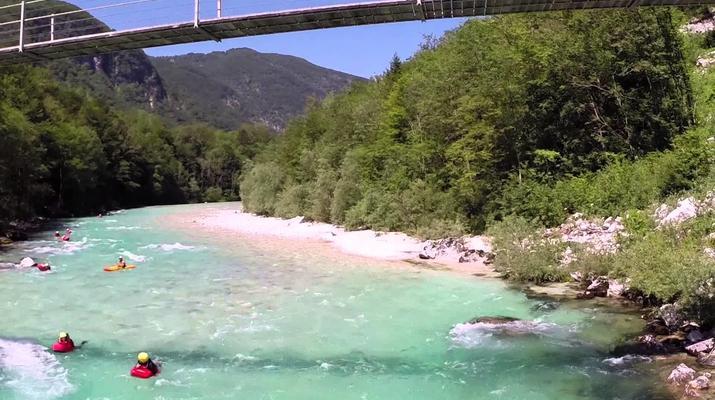 Canoë-kayak-Alagna Valsesia-2 jours de descente de la rivière Sesia à Alagna Valsesia-5