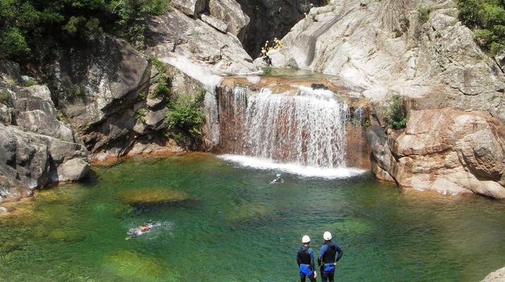 Canyoning-Bavella-Canyon of Purcaraccia in Bavella, Corsica-12