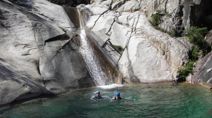 Canyoning-Bavella-Canyon of Purcaraccia in Bavella, Corsica-10