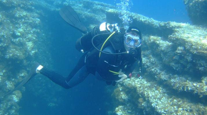 Scuba Diving-Corfu-Discover scuba diving in Kontokali, Corfu-1