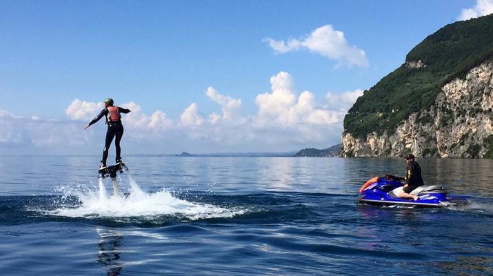 Flyboard / Hoverboard-Lake Garda-Try flyboarding in Tignale, Lake Garda-1