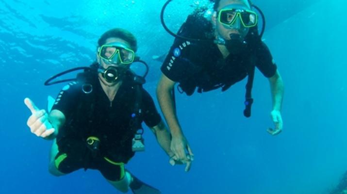 Plongée sous-marine-Les Trois-Îlets-Baptême Plongée aux Trois-Îlets, Martinique-4
