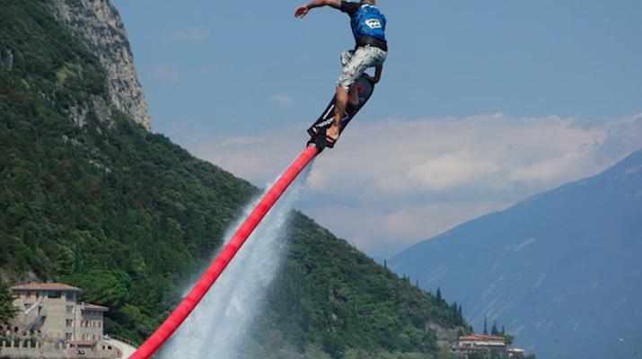 Flyboard / Hoverboard-Lake Garda-Try hoverboarding in Tignale, Lake Garda-1