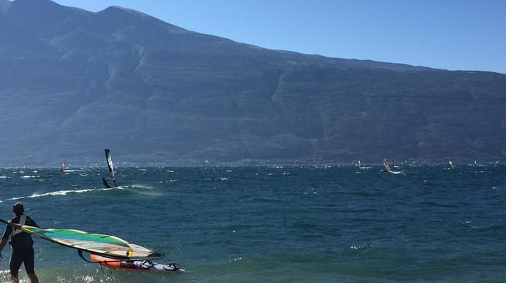 Windsurfing-Lake Garda-Windsurfing courses in Tignale, Lake Garda-2