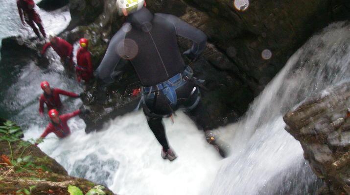 Canyoning-Laruns-Canyon of Soussouéou in the Vallée d'Ossau, Laruns-4