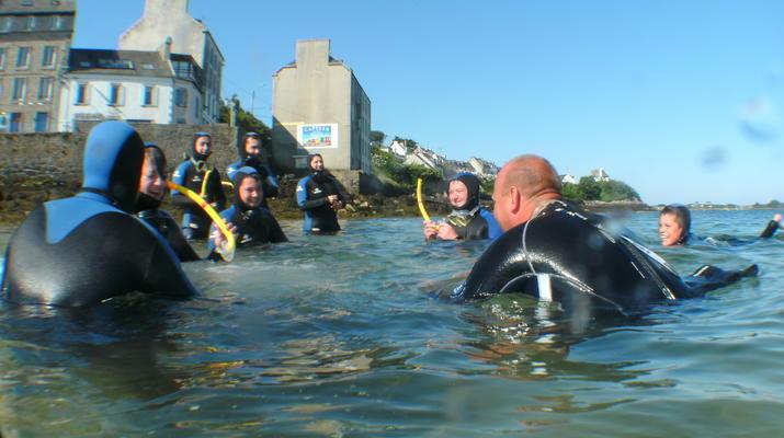 Plongée sous-marine-Brest-Initiation Plongée dans l'Aber Wrach, Bretagne-4