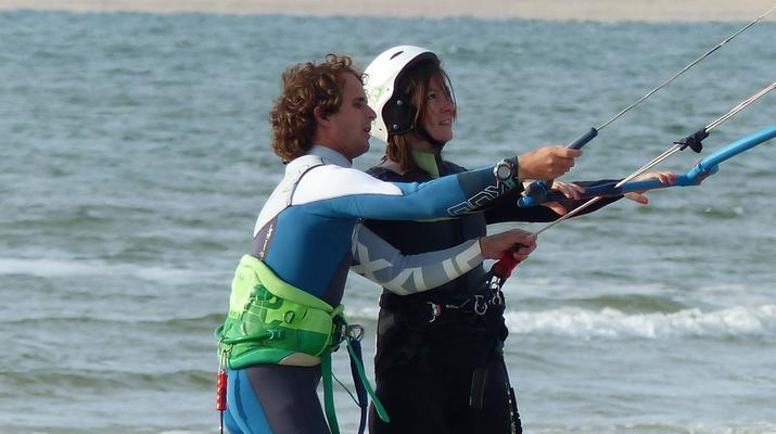 Kitesurfen-Schouwen-Duiveland-Kitesurfing Unterricht in der Nähe von Rotterdam-1