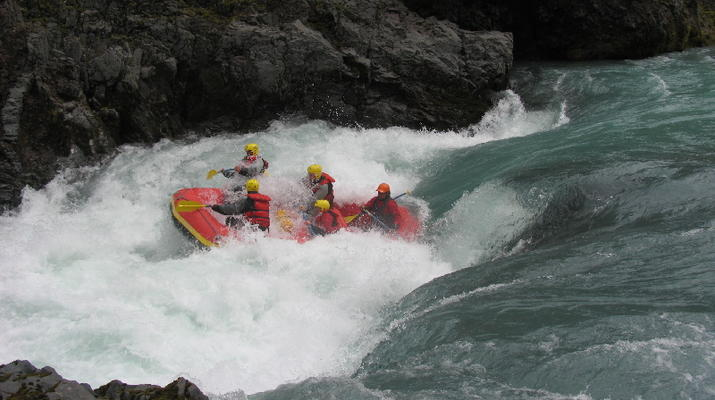 Rafting-Northwestern Region of Iceland-Extreme rafting down the East Glacial River, Northwestern Region of Iceland-2