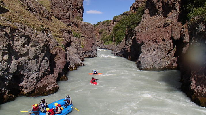 Rafting-Northwestern Region of Iceland-Extreme rafting down the East Glacial River, Northwestern Region of Iceland-1