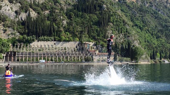 Flyboard / Hoverboard-Lake Garda-Try flyboarding in Tignale, Lake Garda-6